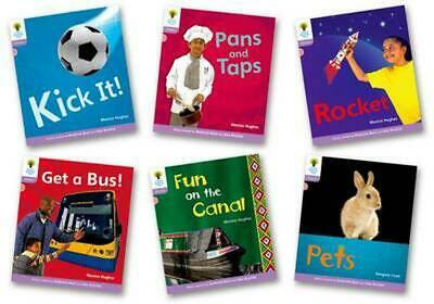 Oxford Reading Tree: Level 1+: Floppy's Phonics Non-fiction: Pack of 6 by Monica