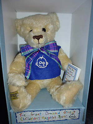 Merrythought OJR150 Mohair Great Ormond Street Hospital Bear New #351/1000 35cm