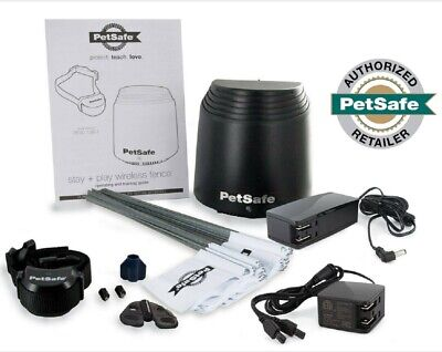 PetSafe Stay and Play Wireless Dog  Fence Rechargeable to 3/4 Acre PIF00-12917