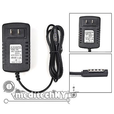 AC Adapter 12V 2A Power Wall Charger for Microsoft Surface 10.6 RT Pro Windows 8