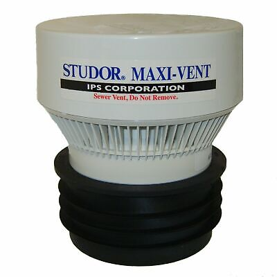 """Studor Maxi Vent - Air Admittance Valve - Fits 3"""" and 4"""" pipe sizes"""