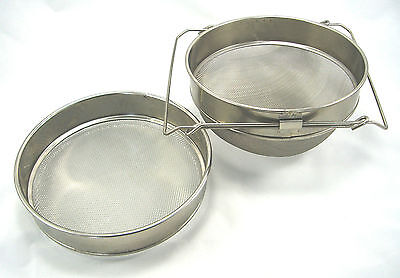 Beekeeping Honey strainer - Stainless steel with sliding arms