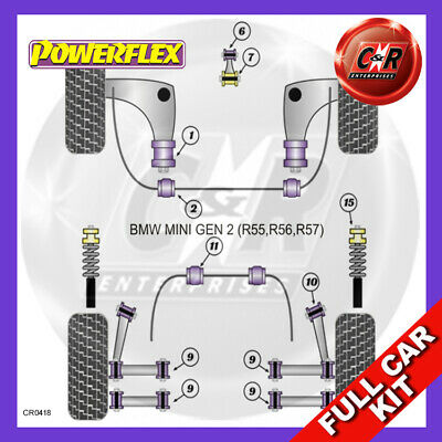 BMW Mini Generation 2 Powerflex Complete Bush Kit
