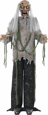 Zombie 60 Inches Halloween Prop Hanging Scary Haunted House Yard Scary Decor