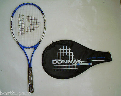 New!!! Donnay Pro One Adult Alloy Tennis Racquet & Cover