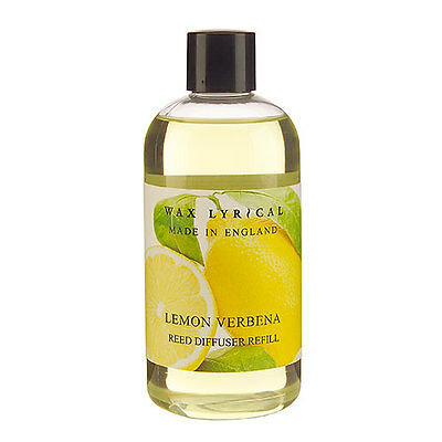 Wax Lyrical Made in England Lemon Verbena 250ml Reed Diffuser Refill Oil NEW