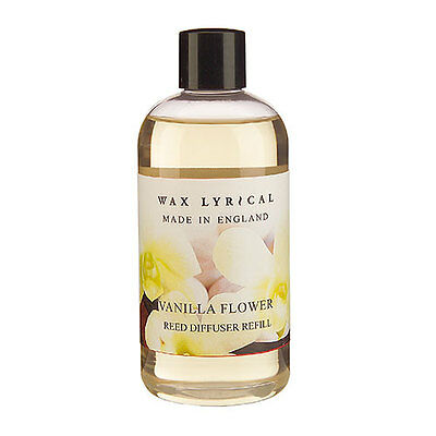 Wax Lyrical Made in England Vanilla Flower 250ml Reed Diffuser Refill Oil NEW