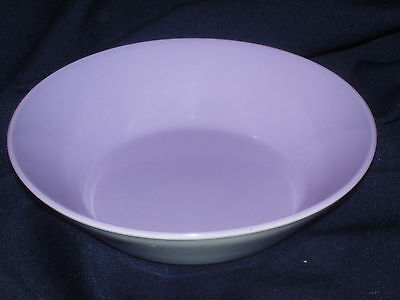 CROWN LYNN FORMA NEW ZEALAND LILAC #42994 COUPE CEREAL/SOUP BOWL PURPLE