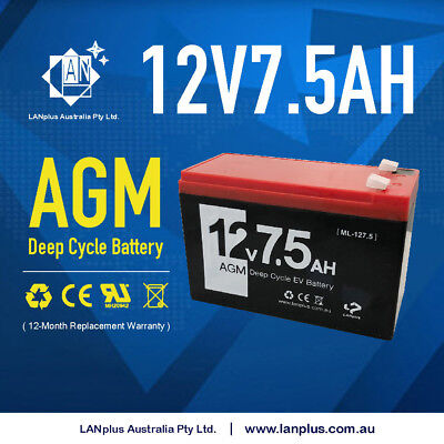 Brand New 12V volt 7.2 amp 7 amp UPS SLA battery (12 voltage 7 ampere)