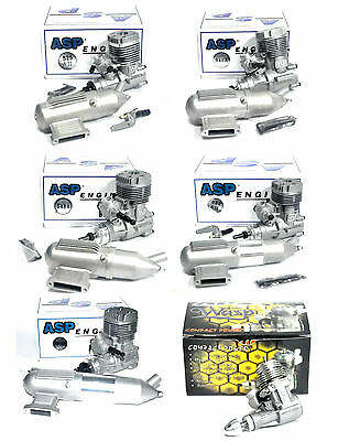 lASP 0.61~.91 ccm Airplane / Heil Engine Nitro 2 Stroke with / without  Muffler