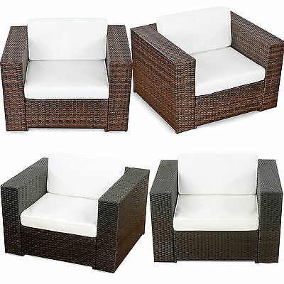 garten rattan set sofa stuhl polyrattan lounge sitzgruppe gartenm bel pictures to pin on pinterest. Black Bedroom Furniture Sets. Home Design Ideas