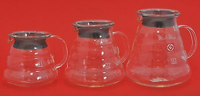 HARIO Coffee POT GLASS V60 Range Server 600 clear  XGS-36 XGS-60 XGS-80