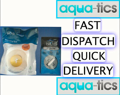 Reef One Oase Biorb Service Kit Filter Cartridge Air Stone Replacement Life Halo