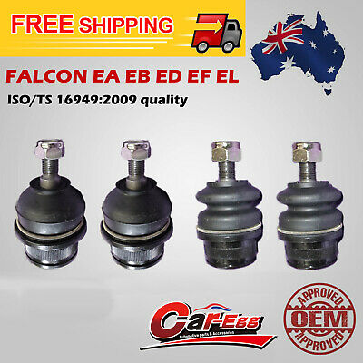Ford EA EB ED EF EL Set Upper + Lower Ball Joint Falcon Falirlane Fairmont Pair
