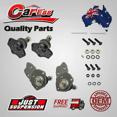 4 Lower Upper Ball Joints Front for Ford Falcon Fairlane XA XB XC XD XE XF