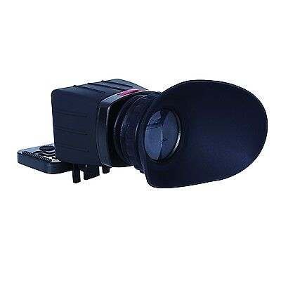 Movo Photo VF30 Universal 3X LCD Video Viewfinder for HD DSLR & SLR Cameras