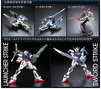 Gundam Bandai Rg Real Grade Model Kit 1/144 #06 Skygrasper Launcher/sword Pack