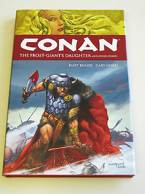 Conan - The Frost Giant`s Daughter Signed Limited Edition Hardback