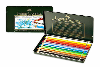 Faber Castell Albrecht Durer- Watercolour Pencils - 12 Set - Artists Quality