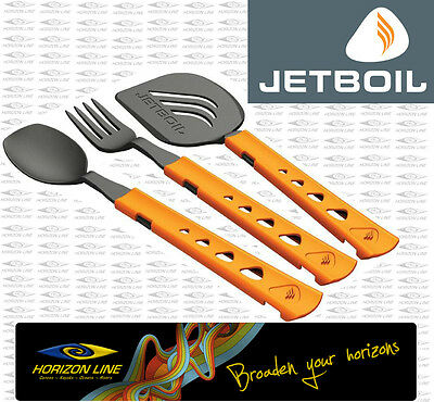 JETBOIL JETSET UTENSILS Cutlery set suit Jet boil Zip Flash SOL Al Ti Fork Spoon
