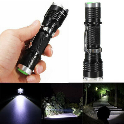 UltraFire 2500LM CREE XM-L T6 LED Flashlight Torch 18650 Zoomable Focus Light