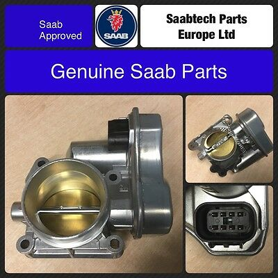 Genuine Saab 9-3 03-06 Throttle Body B207 - Brand New - 93176028