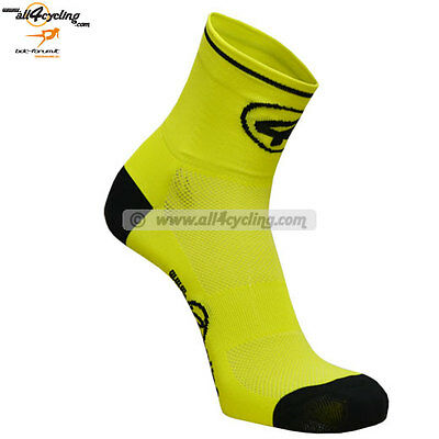 Calze All4cycling - Giallo Fluo - [40/43] (L-XL)...