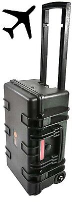 Elephant E300 Carry On Waterproof Hard Case with Wheels and Pre-Cubed Foam , TSA