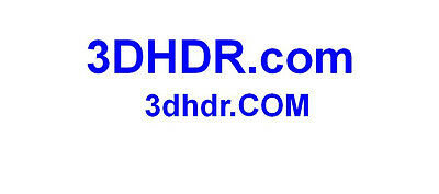 3DHDR .com Premium AGED Electronic Device Domain Name. Reg'd 2008 In Google.