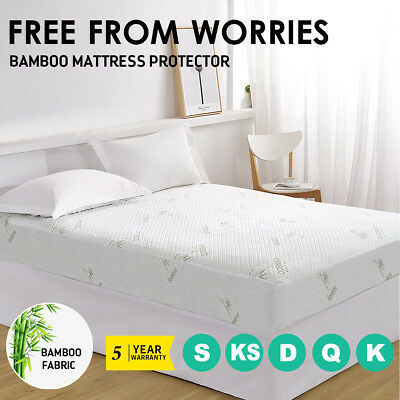 All Size Fully Fitted Non Woven Waterproof Anti-Allergy Mattress Protector Cover