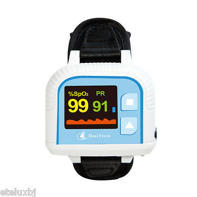 Newestcolor screenWrist pulse blood oxygen saturation meter 100G updated version
