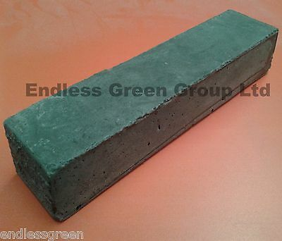 Emery Grey coarse grade buffing bar - 1st stage polishing of Ferrous metals 700g