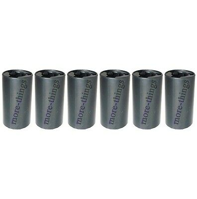 6 Pcs New Cell Battery Adaptor Converter Case AA to C Size Battery Holder Case