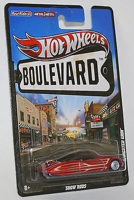 Hot Wheels BOULEVARD SHOW RODS Real Riders GANGSTER GRIN