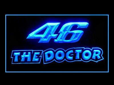 Valentino Rossi 46 The Doctor Ads Led Light Sign B