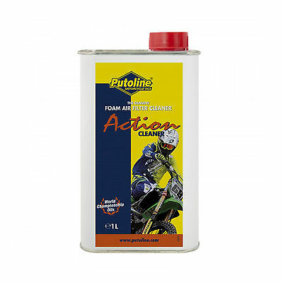 Putoline Motorsport / Motorcycle Foam Airfilter Action Cleaner 1 Litre.