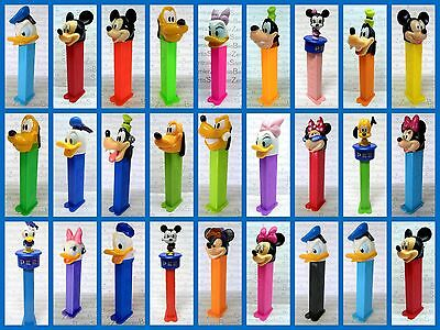 PEZ - DISNEY - DONALD - DAISY - PLUTO - MICKEY - MINNI  -  GOOFY - Please select
