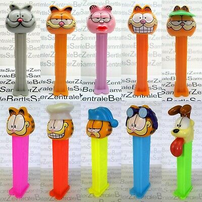 PEZ - GARFIELD - many different - please select !!!