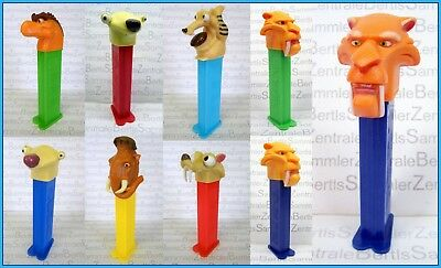PEZ - ICE AGE - MANNY - SID - DINO - SCRAT - DIEGO - SQUIRREL - Please select