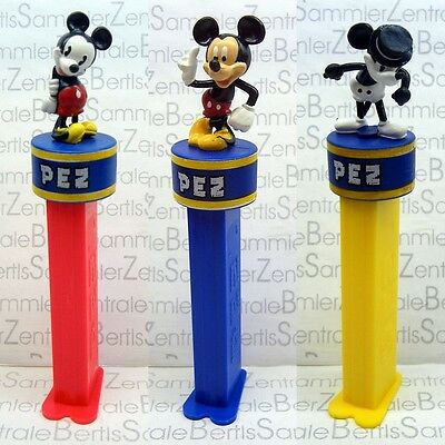 PEZ - MICKEY 80 YEARS - 3 DIFFERENT - limited - Please select !!!