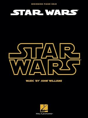 STAR WARS - Beginning Piano Solo Book *NEW* Sheet Music Easy John Williams