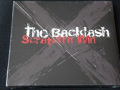 The Backlash - Scratch'n Win (SEALED NEW CD)