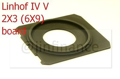 Copal #0 or #1 lensboard lens board for 6x9 2x3 Linhof Technika V 5 70