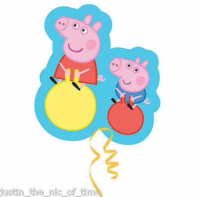 PEPPA PIG George Pig Childrens Kids Party Girls SuperShape FOIL BALLOON