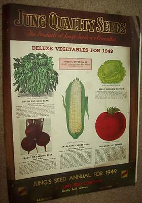1949 Seed Catalog Jung Quality Seeds Randolph Wisconsin JW Jung Seed Co