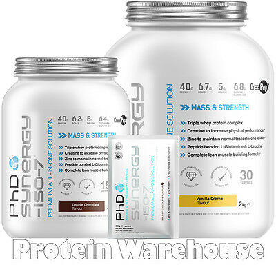 PhD Synergy Protein ISO 7 ISO7 2 kg All In One Supplement