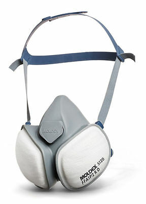 Moldex 5120 Half Mask with Filters FFA1P2 Gas, Vapour & Dust Respirator