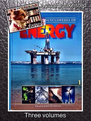 Macmillan Encyclopedia Of Energy Three Volumes Hardcover