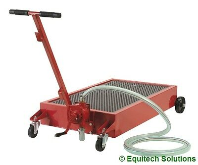 Sealey Tools AK467DXP Low Level Floor Waste Oil Drainer 64L Drain Pan with Pump