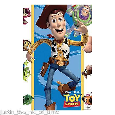 TOY STORY Party Games Boy Girl Childrens Pin The Badge PARTY GAME
